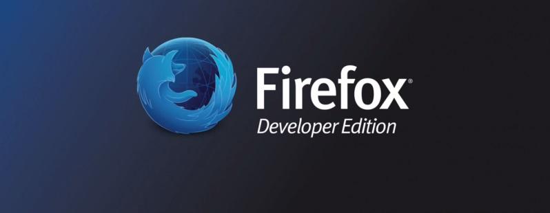 لوگوی مرورگر موزیلا فایرفاکس نسخه توسعه دهندگان