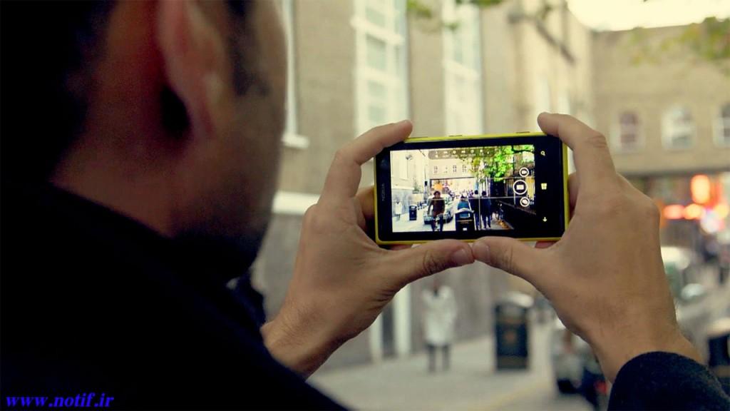 عکاسی و فیلمبرداری با تلفن هوشمند