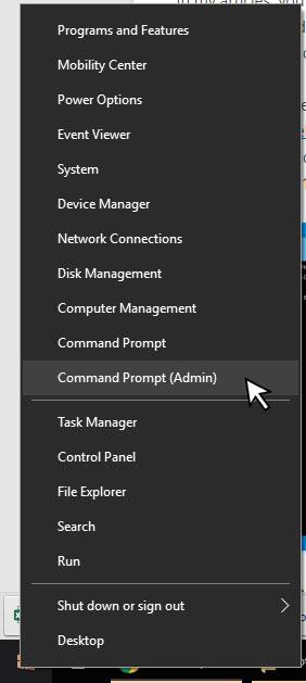 اجرای خط فرمان با سطح دسترسی مدیر